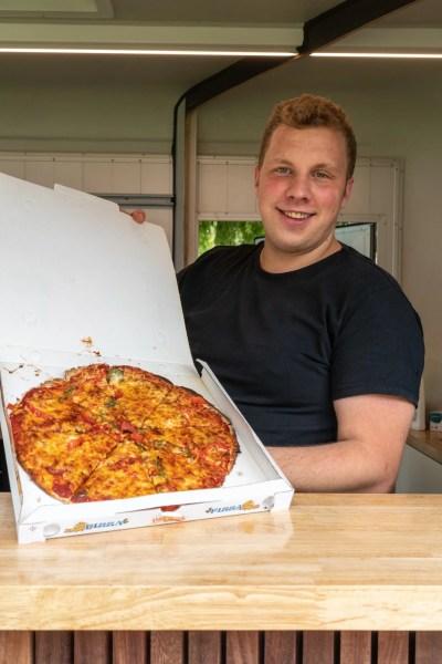 Klaas, le pizzaiolo ambulant de Houthulst