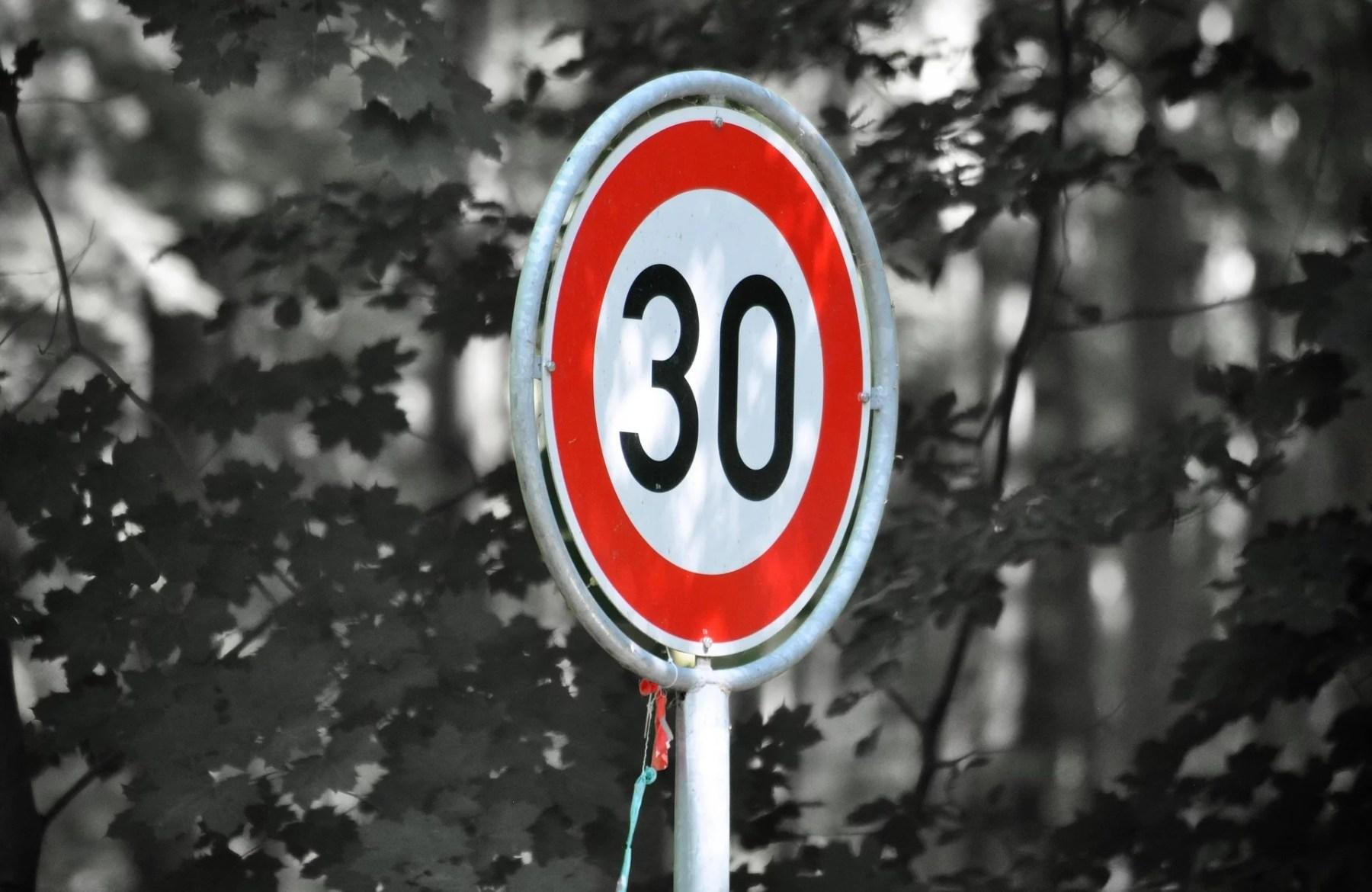 Zone 30 : 90 petites secondes pour une meilleure qualité de vie
