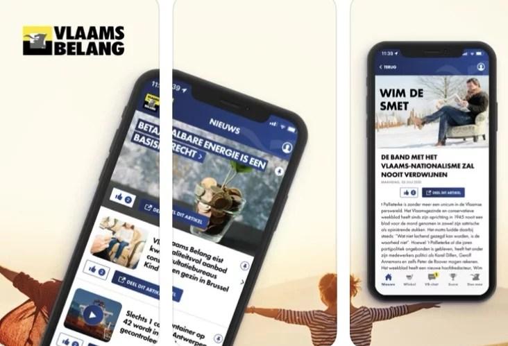 Le Belang lance sa propre application smartphone «pour briser la censure des réseaux sociaux»