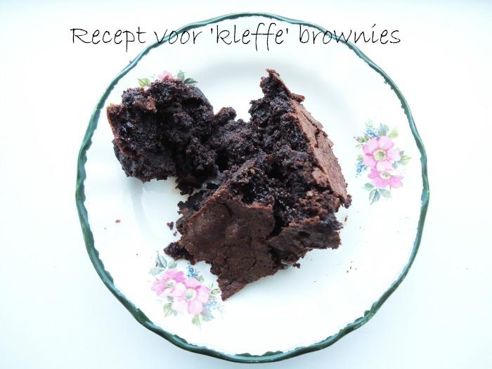 Kleffe brownies
