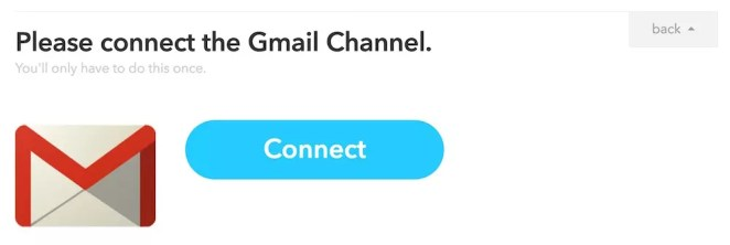Connecting Gmail channel