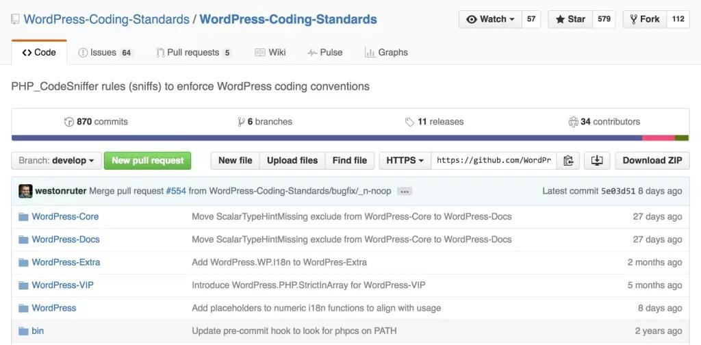 WordPress Coding Standards