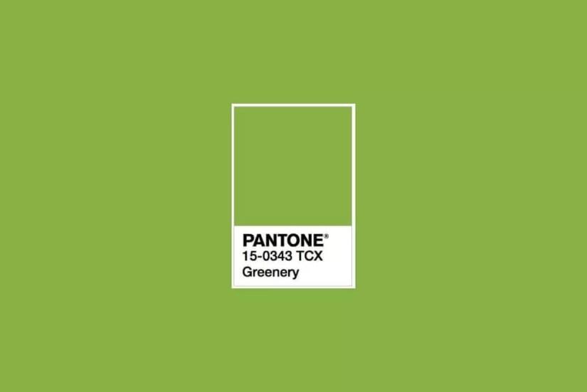 Pantone 15-0343 Greenery