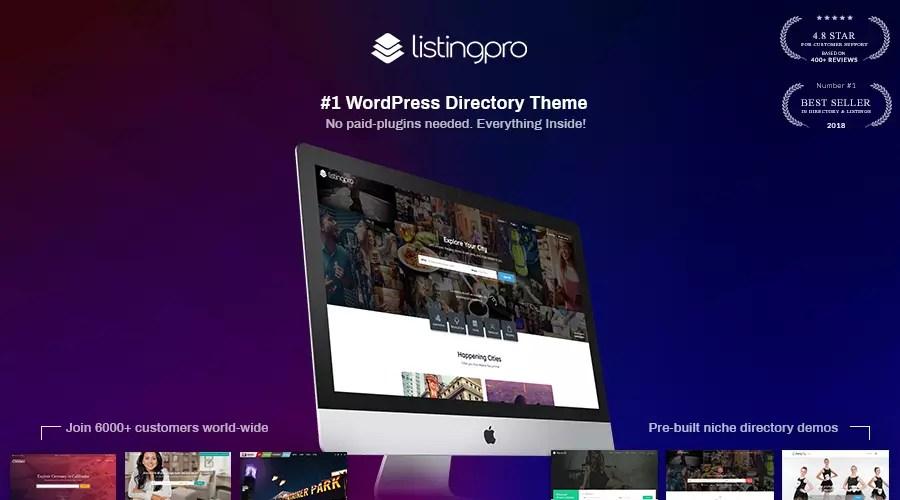 ListingPro: The #1 WordPress Directory Theme