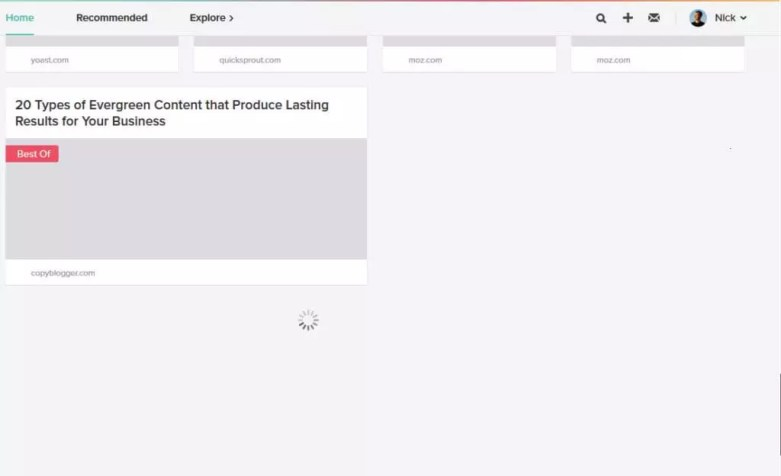 Pocket's lazy loading and infinite scroll