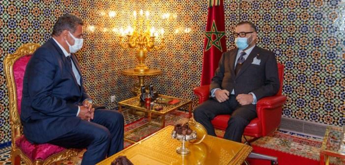 الملك محمد السادس يستقبل عزيز أخنوش ويعينه رئيسا للحكومة