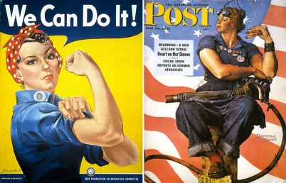 The Post that influenced Miller's work- a piece showing the work and effort of women.