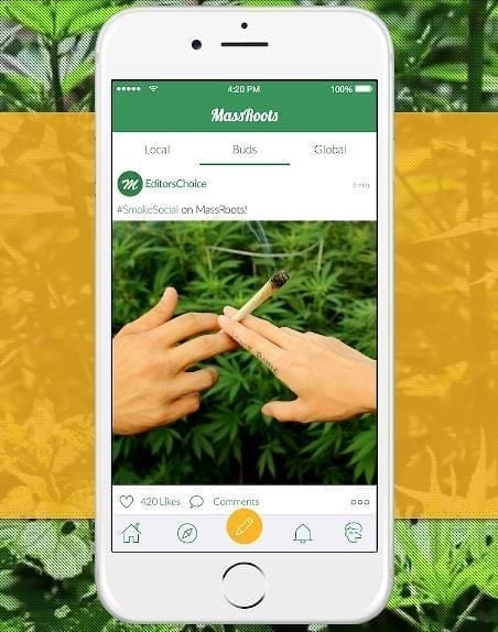 MassRoots Social Website