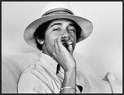 Obama was open about his marijuana use as a young adult