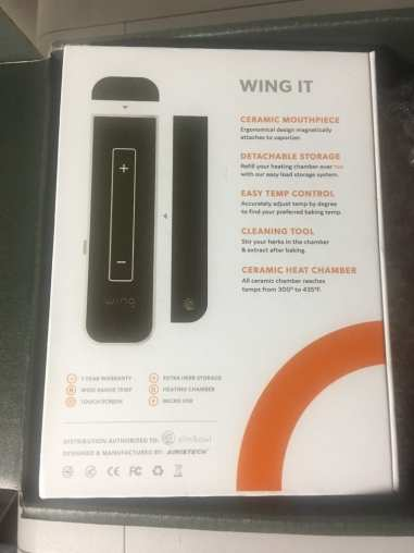 Wing Vaporizer Box