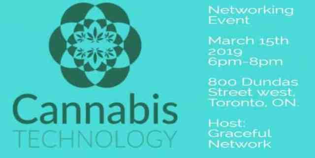 cannabis technolog networking toronto