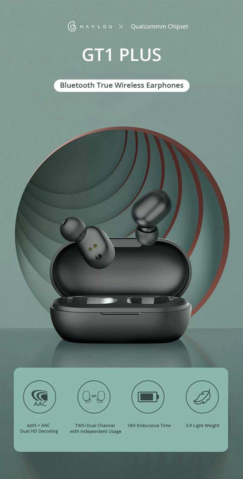 Haylou GT1 Plus APTX 3D Real Sound Wireless Earphones buy online in pakistan