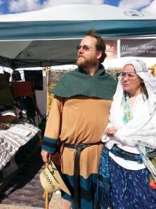 Us at the Santa Fe Renaissance Fest.