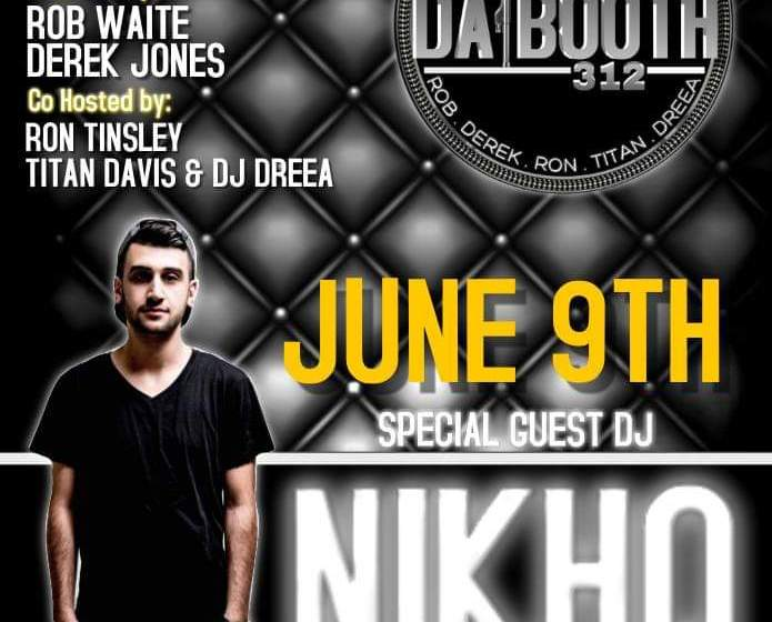 DaBooth312 Welcomes Dj Semaj and Rick Johnson