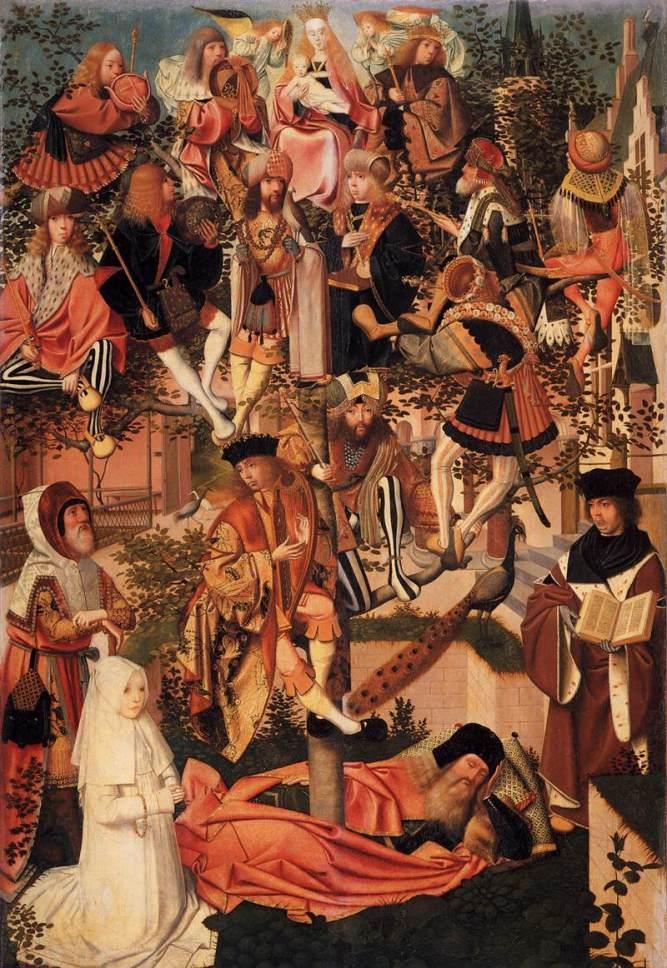 "Jan Mostaert (1475-1522/23), ""The Tree of Jesse"""