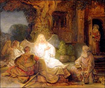 Abraham Serving the Three Angels