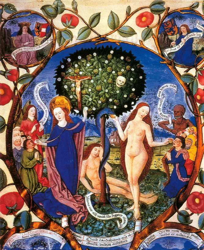 """Berthold Furtmeyr, """"The Tree of Death and Life"""" (15th century)"""