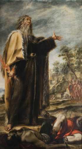 Elijah and Baal prophets