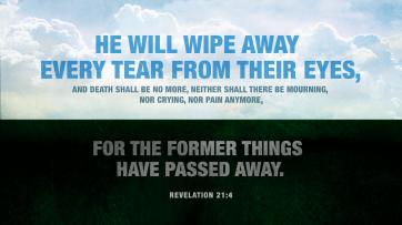 Wipe away all tears