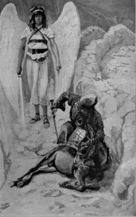 Balaam and his donkey