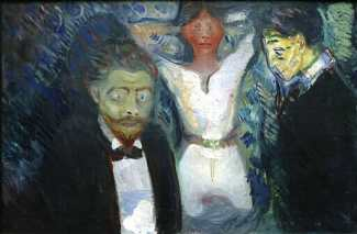 """Jealousy,"" by Munch"