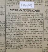 1909_10_09 sagi barba zarzuela opera chico