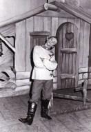 Alejandro De Luca Ballet Pedro y el lobo, marzo 1982 Teatro Argentino de La Plata