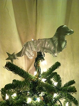 A Dachshund Christmas Tree Topper For A Wiener Ful Holiday