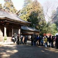 阿夫利神社へ初詣