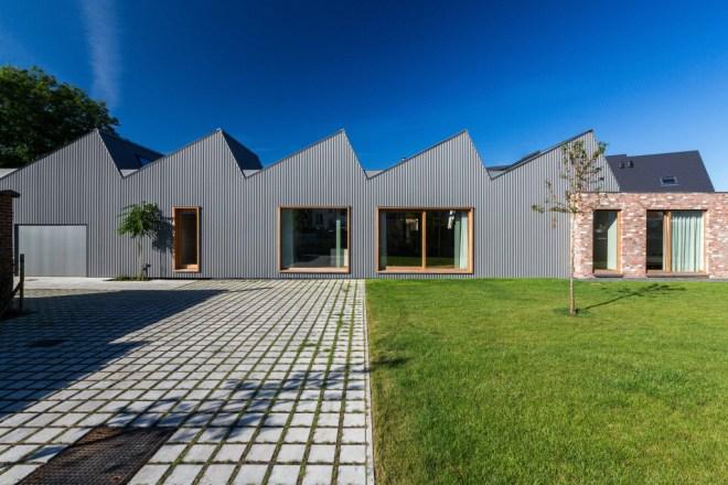 Maison et bureaux, Courtrai (Belgique)