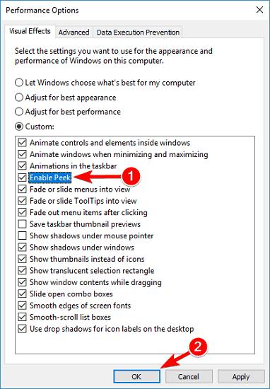alt tab tidak mengganti jendela