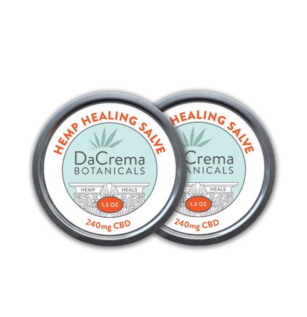 Dacrema Botanicals CBD Healing Products Salve Combo Pack 7