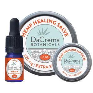 Dacrema Botanicals Hemp Healing Products Combo Pack 1