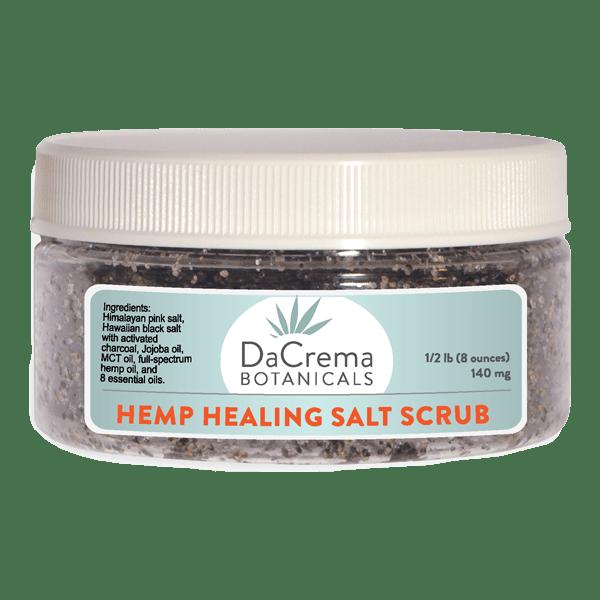Dacrema Botanicals Hemp Healing Salt Scrub Product