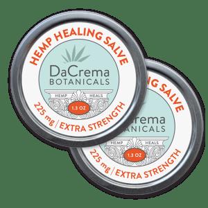 Dacrema Botanicals Hemp Healing Salve Product Combo Pack