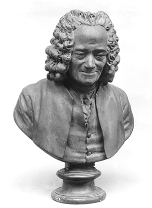 buste voltaire