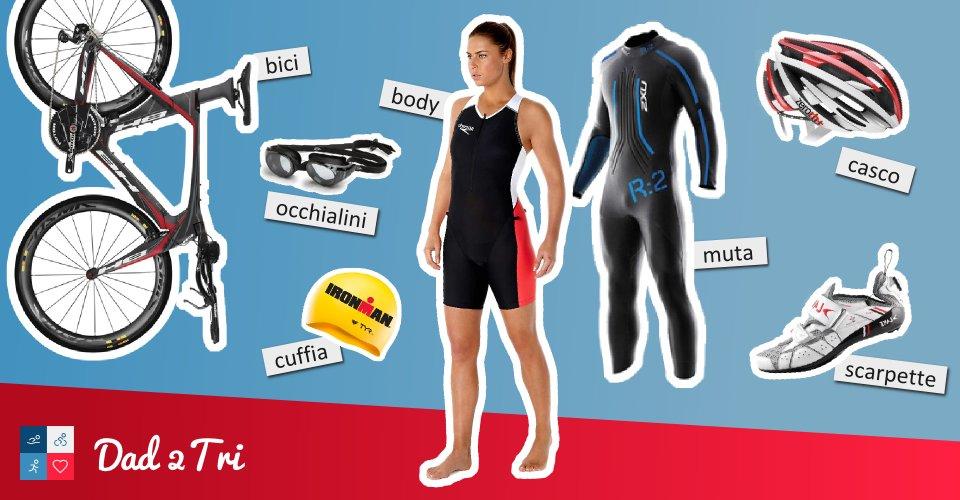 L'attrezzatura per il Triathlon