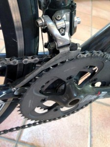 cambio bici corona deragliatore