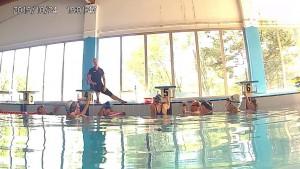 A lezione di tecnica di nuoto con coach Alice