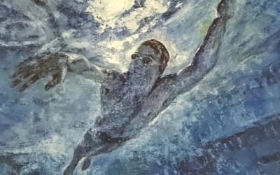 Triathlon e Arte: il movimento che prende vita