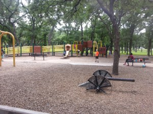 Large playscape