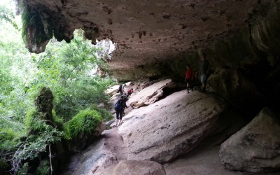 Waterfalls and Rock Climbing at Reimer's Ranch