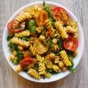 Vegan, Gluten-Free Turmeric Tahini Pasta Salad