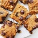Coconut Flour Chocolate Chip Bars (Gluten-Free, Dairy-Free, Nut-Free(!))