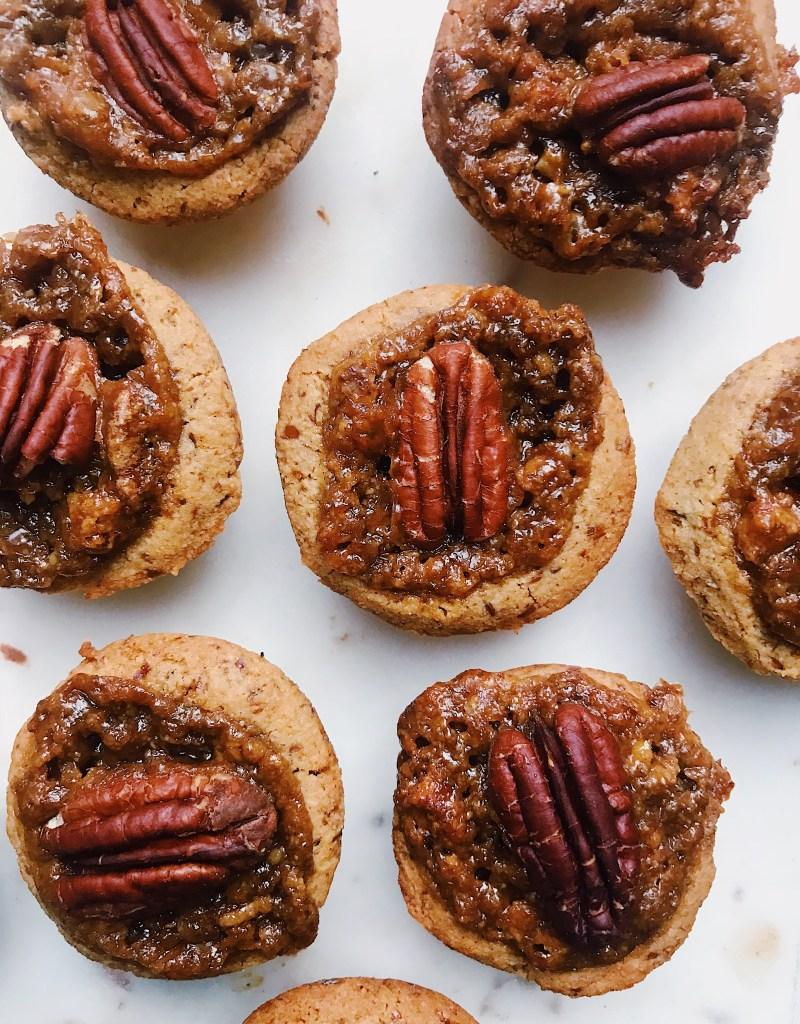 Vegan & Gluten-Free Mini Pecan Pies