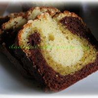 Plumcake dolce tricolore