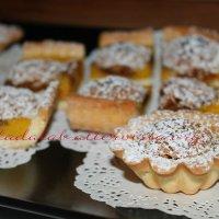 Crostata con amaretti