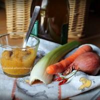Salsa piccante aromatica alle verdure