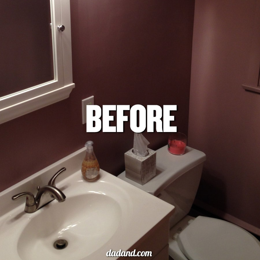 What Kind Of Paint Do I Use In A Bathroom: 24-hour Guest Bathroom Facelift