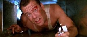 Die Hard, advice, Bruce Willis, Hans Gruber, action movies, movies, 1980s, Bonnie Bedelia, parenthood, advice